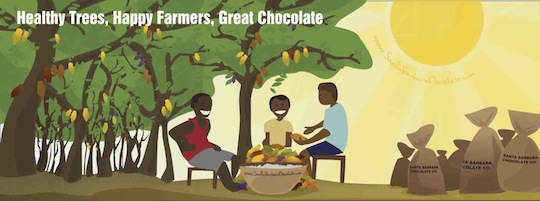 Healthy Trees, Happy Farmers, Great Chocolate