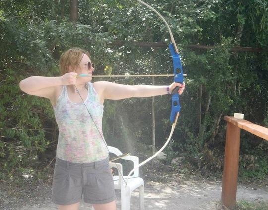 Caitlin Training
