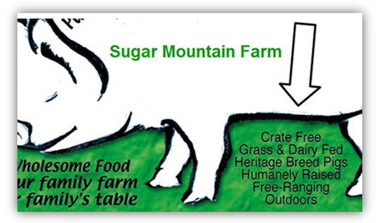 Sugar Mountain Farm Pastured Pork