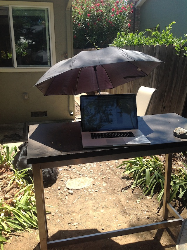How to Work Outside (Even If You\'re a Desk Jockey) | Mark\'s Daily ...