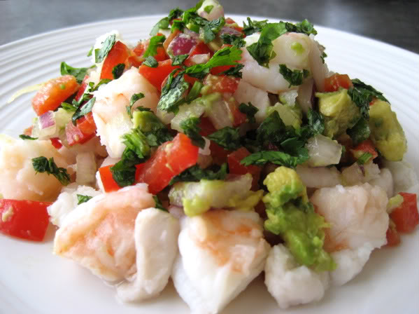 Halibut Snapper And Shrimp Ceviche Mark S Daily Apple