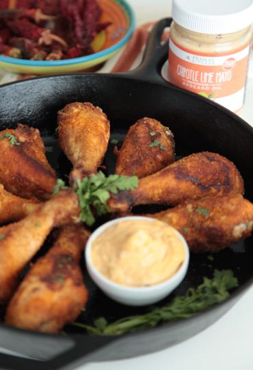 Primal Kitchen Chipotle Lime Mayo southwest drumsticks with primal kitchen? chipotle lime mayo