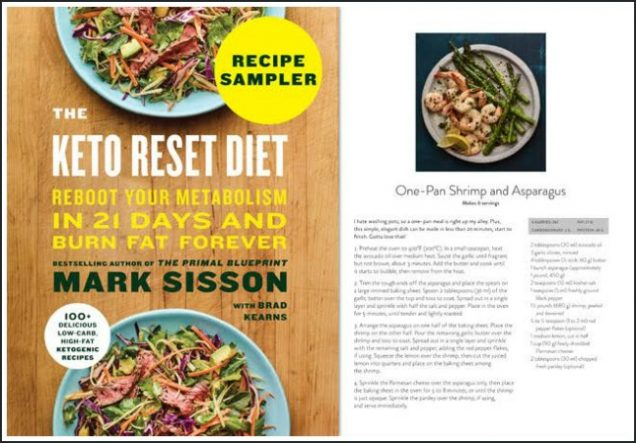 Mark Sisson Diet get ready to reset and go keto! incredible pre-order bonus offer
